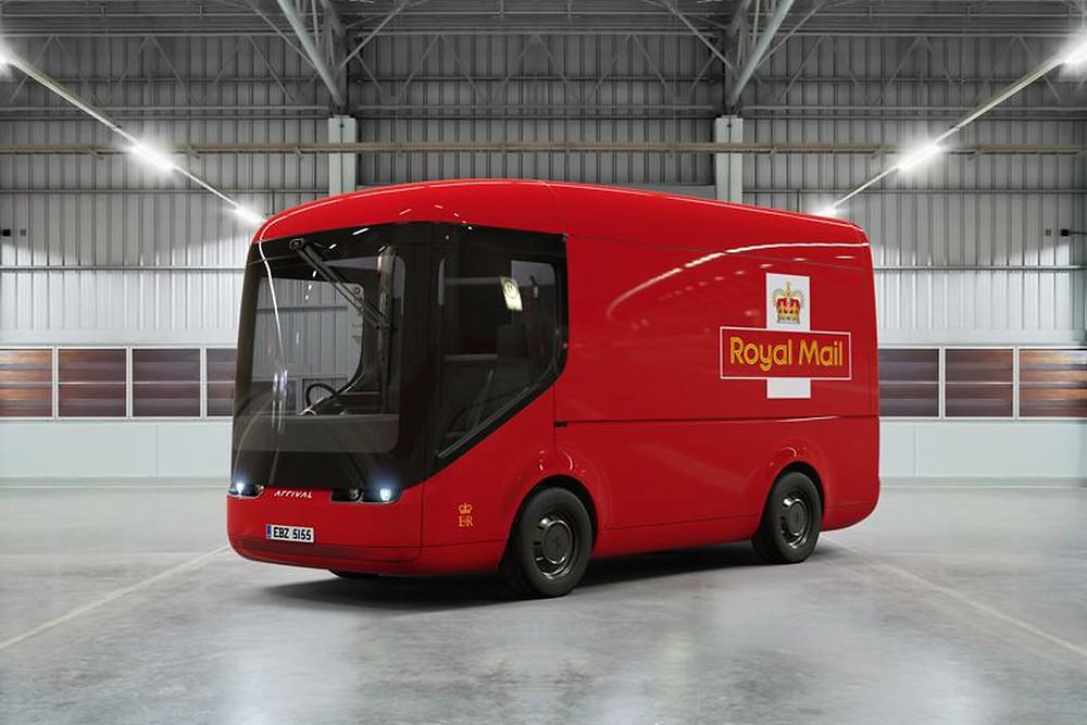 Royal Mail 亦已向 Arrival 訂購了電動貨車。