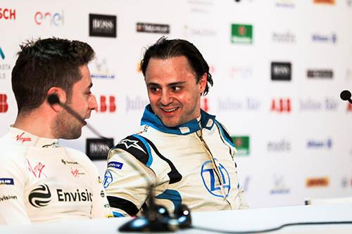 馬沙(右)會代表 Venturi 車隊出戰 Formula E。