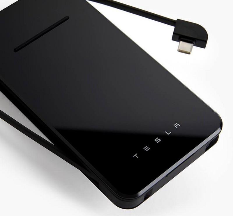 Tesla 手機無線充電器