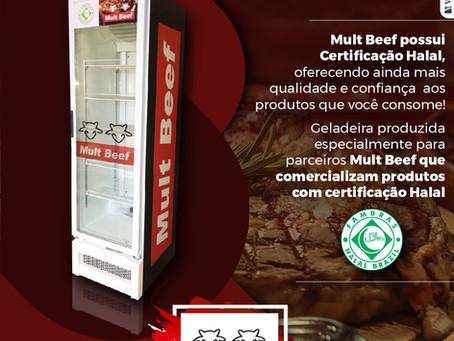 Mult Beef possui Certificação Halal