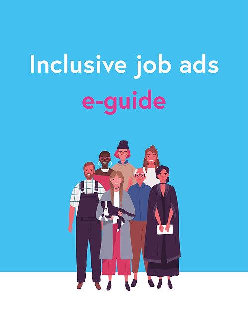 eGuide How to Write Inclusive Job Ads (coupon FREEJOBADS)