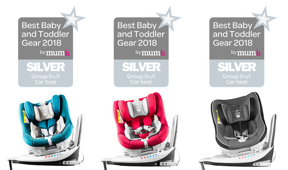 Merlin Won Silver at Best Baby and Toddler Gear 2018