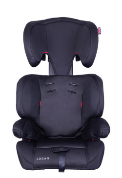 EST 123 Black Grey Front Headrest High