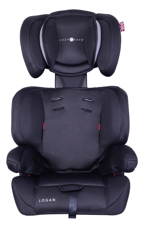 EST 123 Black Grey Front Headrest High +