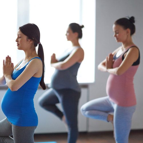 Yoga pour les femmes enceintes