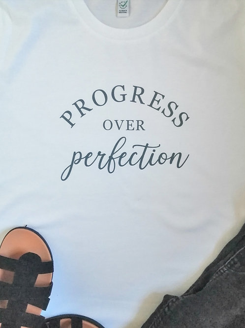 Progress Over Perfection T-shirt