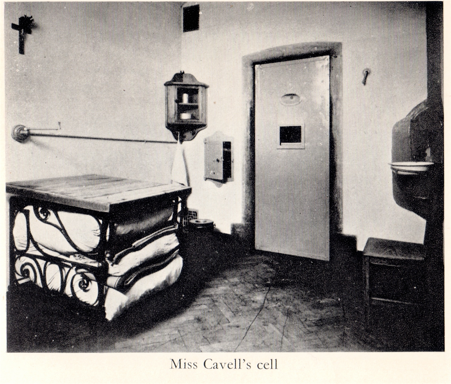 Edith Cavell's Prison Cell