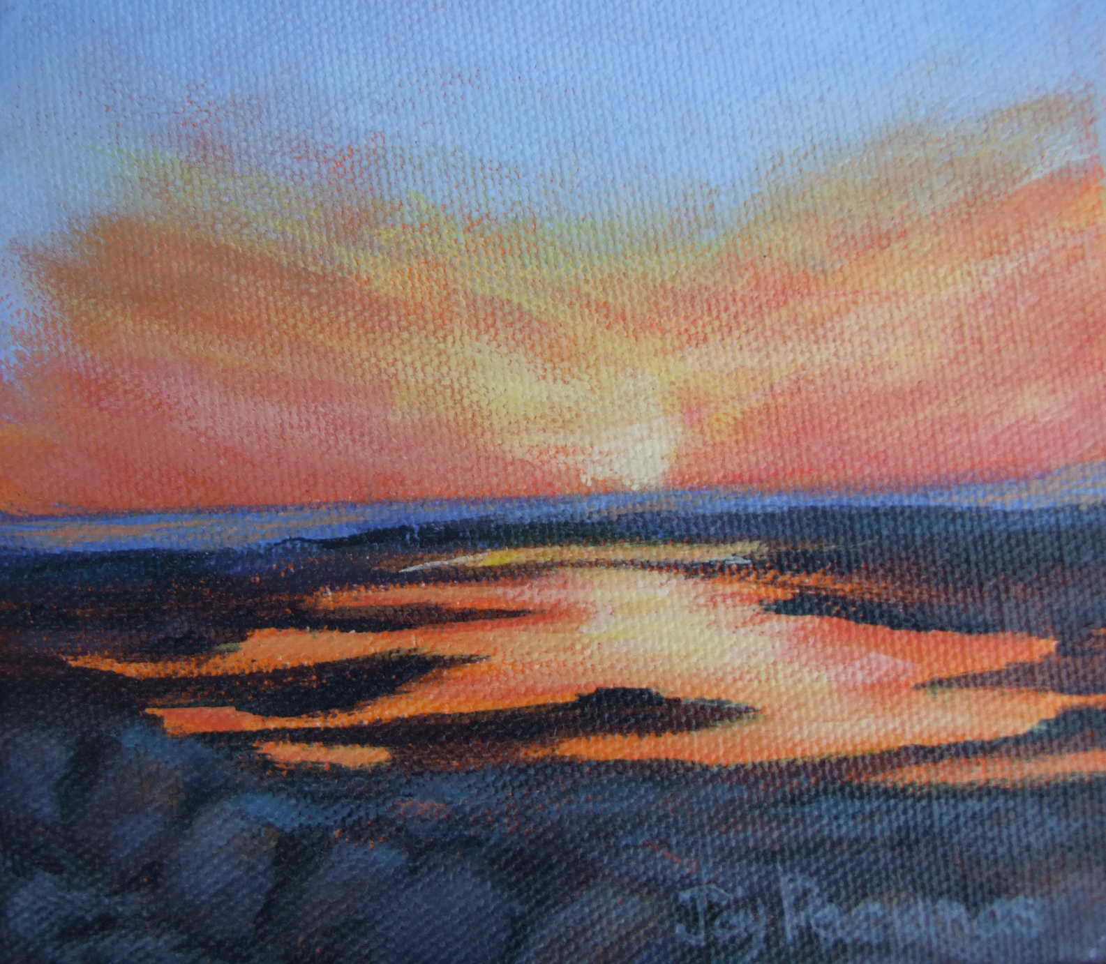 Sunset Mayflower Beach