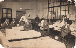 Typical WWI Hospital Scene