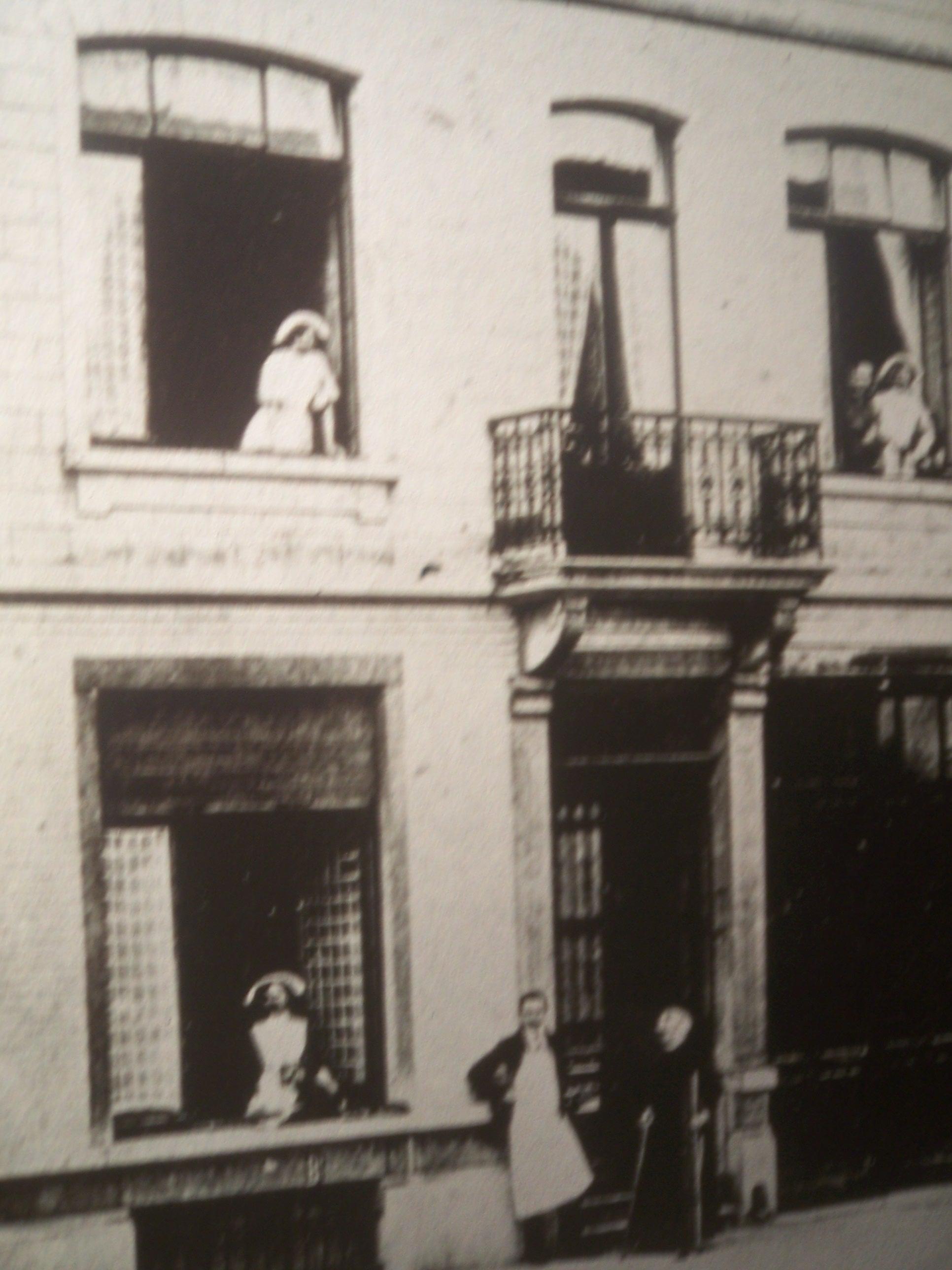 Early Image of Nursing School