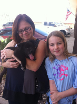 Bear was adopted!
