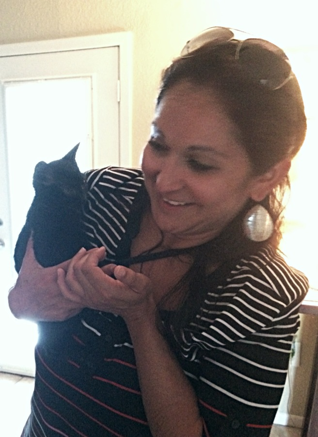 Ashley (now Lilly) and owner Yvette