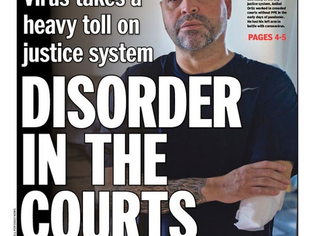 Coronavirus leaves trail of illness and death in NYC courthouses as slow-to-change system struggles