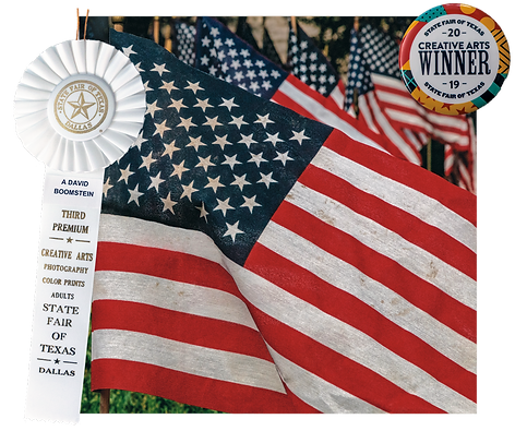 TX State Fair 2019 - Winner - Memorial Day Flags