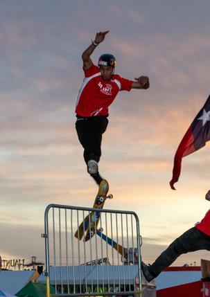 TX Stunt Jam 2019 - Skateboarder at Sunset