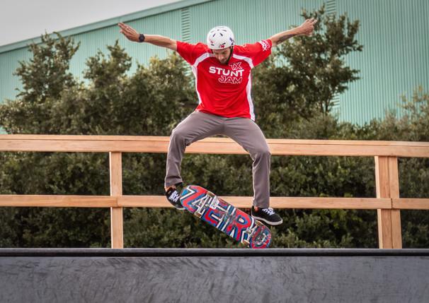 TX Stunt Jam 2019 - Skateboarder