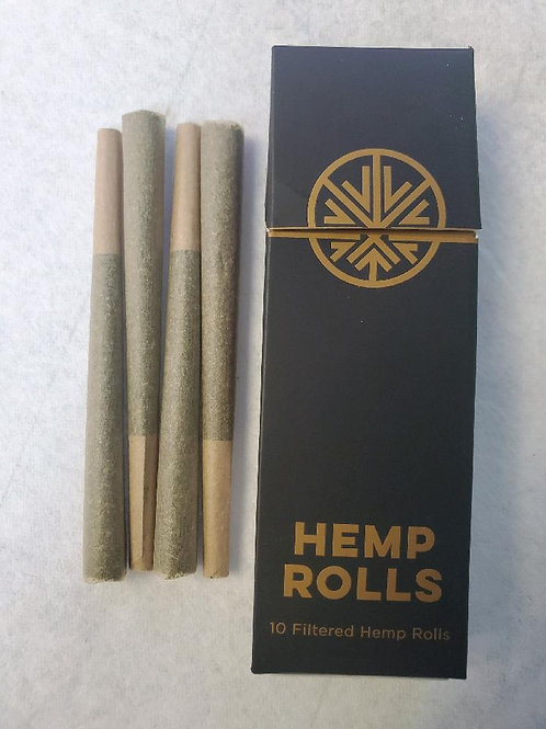 Full Spectrum Hemp Rolls with THC 10 PACK