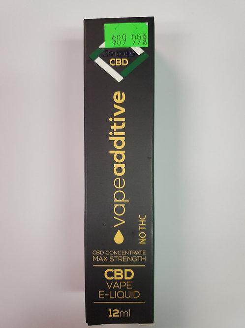 CBD Vape E-Liquid No THC Concentrate 12ml  350mg CBD