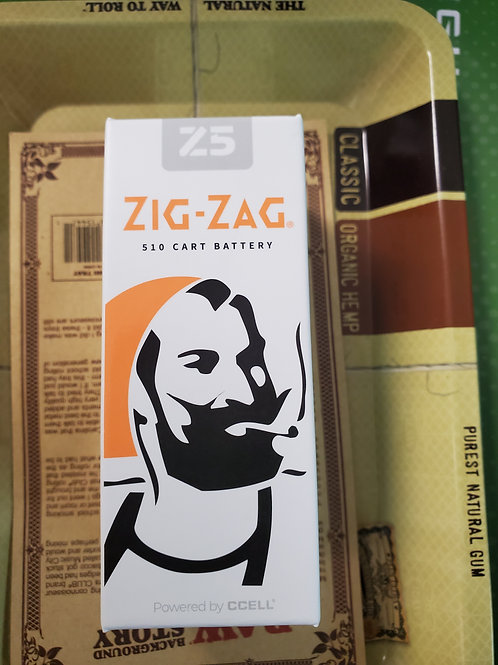 Zig-Zag Z5 510 Cart Battery Powered by CCell