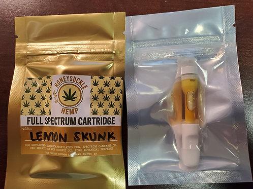 Honeysuckle Hemp 425 mg CBD Cartridge Full Spectrum with .3% Delta 9 THC