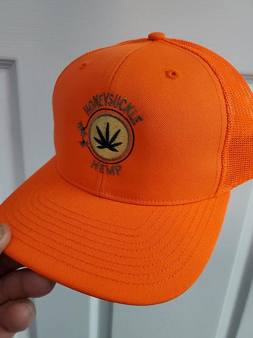The Honeysuckle Hemp Blaze Orange Cap