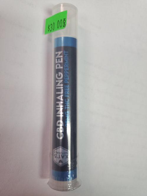 Kat's Naturals CBD Inhaler 25mg No THC 30 Peppermint