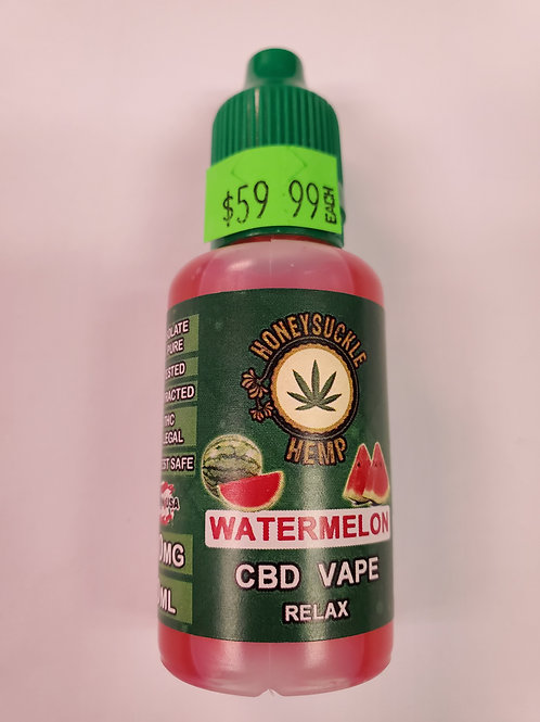 Watermelon CBD Vape 500mg 30ml