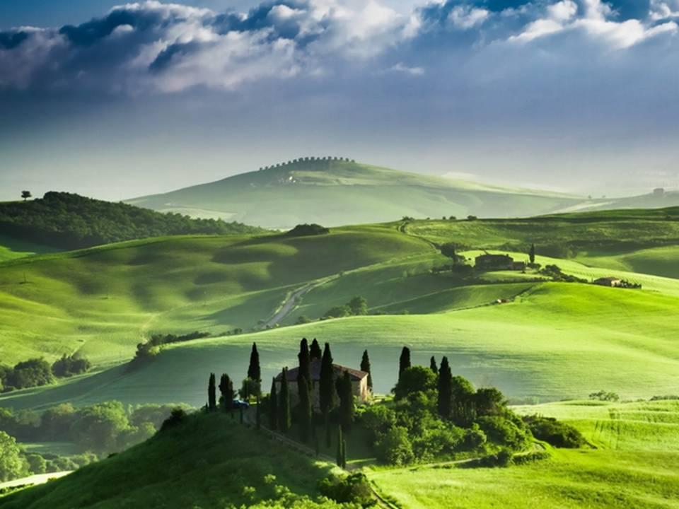 איטליה, טוסקנה - יולי