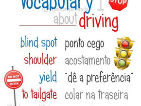 Vocabulary about DRIVING 1