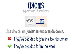 "Idioms: ""To tie the knot"""