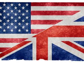 INGLÊS AMERICANO & INGLÊS BRITÂNICO