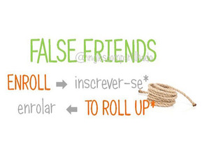 False friends: Enroll x Enrolar
