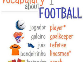 Vocabulary about football 1