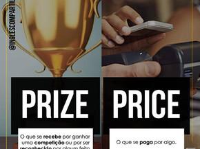 PRICE vs. PRIZE