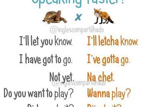 Dicas para falar mais rápido!