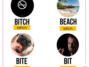BITCH x BEACH x BITE x BIT