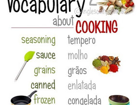 Vocabulary about cooking 2