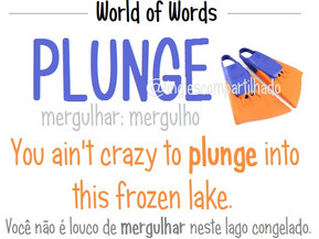 "World of words: ""PLUNGE"""