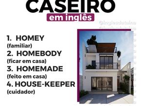 """4 FORMAS DE DIZER """"CASEIRO"""" EM INGLÊS"""