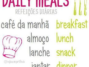 DAILY MEALS (refeições)