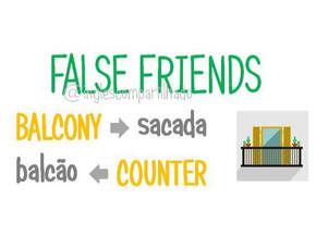 False Friends: Balcony x Balcão