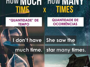 """How MUCH time?"" VS ""How MANY time?"""