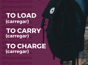 TO LOAD, TO CARRY & TO CHARGE