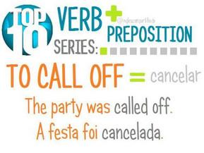 Prepositions + verbs / 1