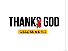 """Não diga """"ThankS God"""""""