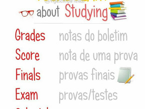 Vocabulary about Studying