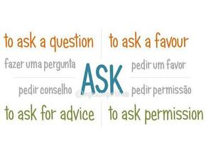 ASK para pedir ajuda e permissão!