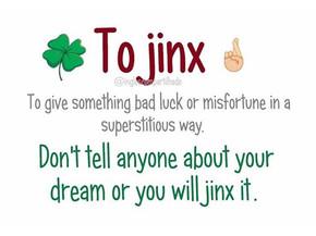 """To jinx"" - o que significa?"