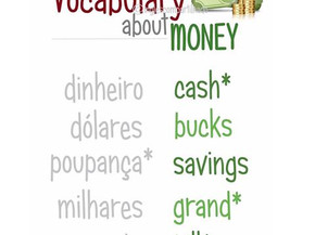 Vocabulary about MONEY