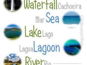 Água e natureza - Vocabulary